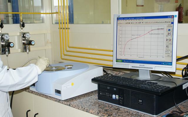 Calorímetro diferencial de barrido